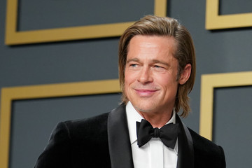 Brad Pitt 92nd Annual Academy Awards - Press Room