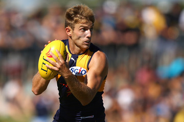 Brad Sheppard West Coast v Fremantle - 2017 JLT Community Series