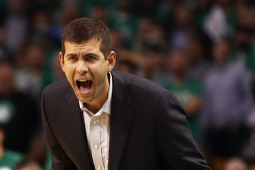 Brad Stevens Milwaukee Bucks v Boston Celtics