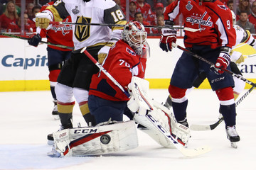Braden Holtby 2018 NHL Stanley Cup Final - Game Four