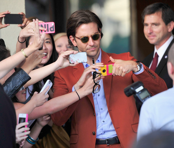 'The Hangover Part III' Premieres in LA — Part 3 [hangover part 3,product,eyewear,event,photography,sunglasses,journalist,vision care,glasses,crowd,bradley cooper,arrivals,california,westwood village theater,warner bros. pictures,westwood,premiere,premiere]