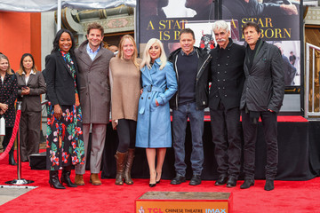 Bradley Cooper Lady Gaga The TCL Chinese Theatre Hosts Sam Elliott Hand And Footprint Ceremony