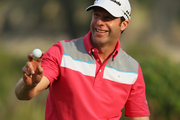 Bradley Dredge Commercial Bank Qatar Masters - Day One