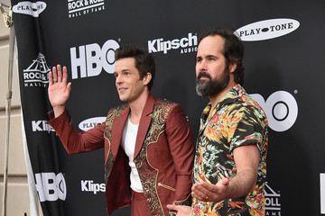 Brandon Flowers 33rd Annual Rock & Roll Hall Of Fame Induction Ceremony - Arrivals