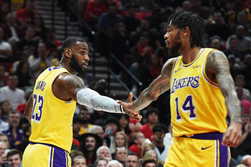 Brandon Ingram Los Angeles Lakers vs. Portland Trail Blazers