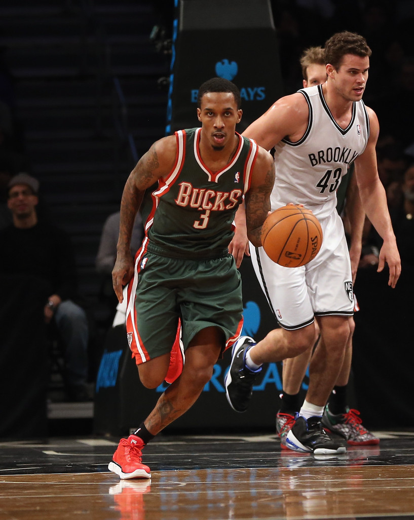 Brandon+Jennings+Milwaukee+Bucks+v+Brook