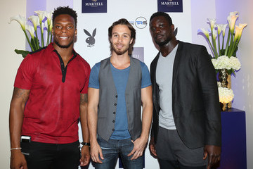 Brandon Marshall Martell Cognac Hosts Talent Resources Sports Party in Los Angeles, California