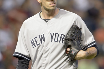 Brandon McCarthy New York Yankees v Cleveland Indians