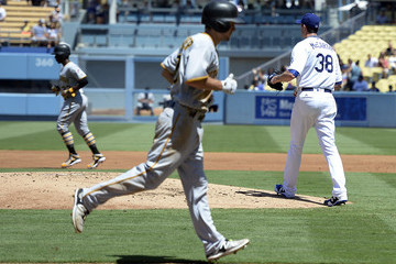 Brandon McCarthy Pittsburgh Pirates v Los Angeles Dodgers