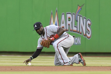 Brandon Phillips Atlanta Braves v Miami Marlins
