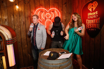 Brantley Gilbert 2015 iHeartRadio Country Festival - Backstage