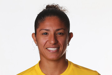 Christiane Brazil Women's Official Olympic Football Team Portraits