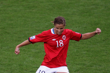 Guro Knutsen Mienna Brazil v Norway: Group D - FIFA Women's World Cup 2011