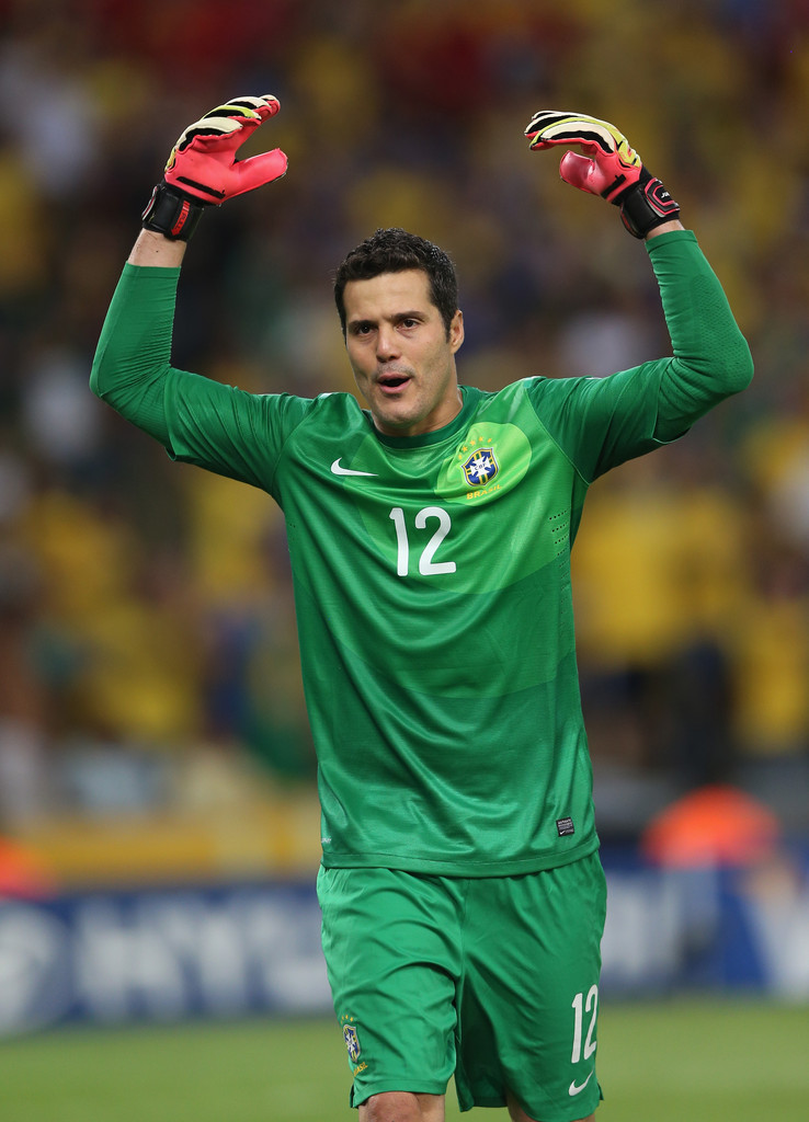 Julio Cesar Photos Photos - Brazil v Spain: Final - Zimbio