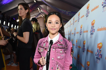 Breanna Yde Nickelodeon's 2017 Kids' Choice Awards - Red Carpet