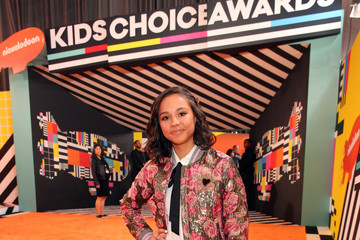 Breanna Yde Nickelodeon's 2018 Kids' Choice Awards - Red Carpet