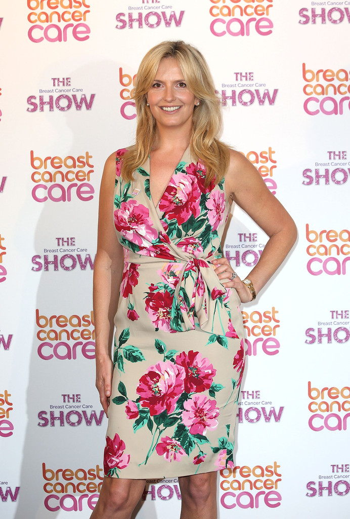 Penny Lancaster Photos Photos Arrivals At The Breast Cancer Care Fashion Show Zimbio