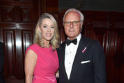 Deborah Norville (L) and Karl Wellner attend the Hot Pink Party hosted by the Breast Cancer Research Foundation at Park Avenue Armory on May 15, 2019 in New York City.