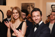 """Megan Irminger and Ian Bohen attend the Breguet """"Classic Tour"""" at Carnegie Hall on July 12, 2018 in New York City."""