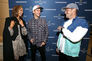 Professional surfer Sally Fitzgibbons, Breitling Ambassador and Motorcross racer Ken Roczen and Professional skateboarder Ryan Sheckler attend the Breitling Boutique San Diego grand opening celebration on February 05, 2020.