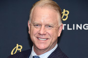 "Boomer Esiason on the red carpet at the #LEGENDARYFUTURE"" Roadshow 2018 New York on February 22, 2018."