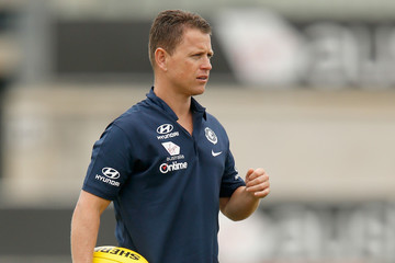 Brendan Bolton Carlton Blues Training Session