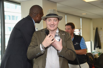 Brendan Fraser Annual Charity Day Hosted By Cantor Fitzgerald, BGC and GFI - BGC Office - Inside