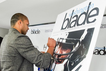 Brendon Ayanbadejo Washington Blade Partnership Announcement