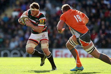 Brendon O'Connor Leicester Tigers v Newcastle Falcons - Aviva Premiership