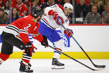 Brent Seabrook Montreal Canadiens v Chicago Blackhawks