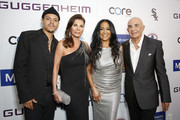 (L-R) Evan Ross, Linell Shapiro,  Sheila E., and Robert Shapiro attend Brent Shapiro Foundation Summer Spectacular 2019 at The Beverly Hilton Hotel on September 21, 2019 in Beverly Hills, California.