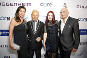(L-R) Linell Shapiro, Elliot Mintz, Priscilla Presley, and Robert Shapiro attend Brent Shapiro Foundation Summer Spectacular 2019 at The Beverly Hilton Hotel on September 21, 2019 in Beverly Hills, California.
