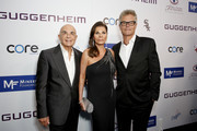 (L-R) Robert Shapiro, Linell Shapiro and Harry Hamlin attend Brent Shapiro Foundation Summer Spectacular 2019 at The Beverly Hilton Hotel on September 21, 2019 in Beverly Hills, California.