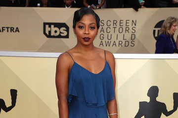 Bresha Webb 24th Annual Screen Actors Guild Awards - Arrivals