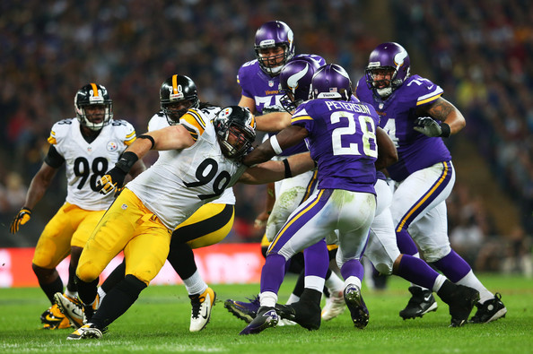 Brett+Keisel+Pittsburgh+Steelers+v+Minne