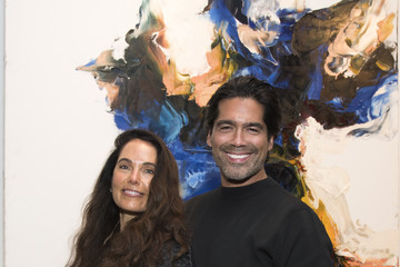 Brian Atwood Stacey Jordan Cook Michael Angel's 'Maps And Stacks' Presented By Gobbi Fine Art, New York City