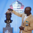 Brian Dawkins NFL Hall Of Fame Enshrinement Ceremony