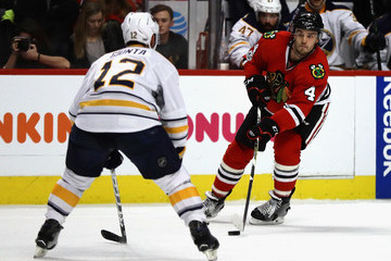 Brian Gionta Buffalo Sabres v Chicago Blackhawks