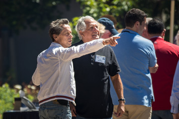 Brian Grazer Annual Allen And Co. Meeting In Sun Valley Draws CEO's And Business Leaders To The Mountain Resort Town