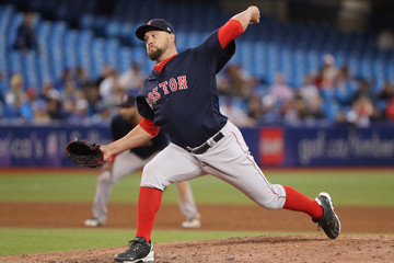 Brian Johnson Boston Red Sox Vs. Toronto Blue Jays