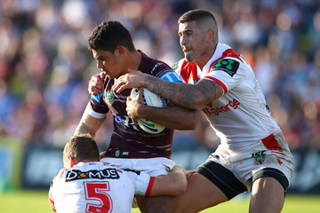 Brian Kelly NRL Rd 6 - Sea Eagles v Dragons