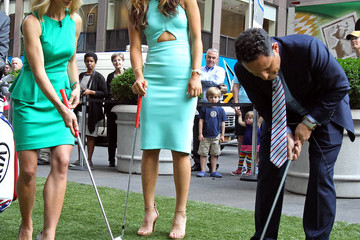 Brian Kilmeade Michelle Wie Visits the 'Today' Show