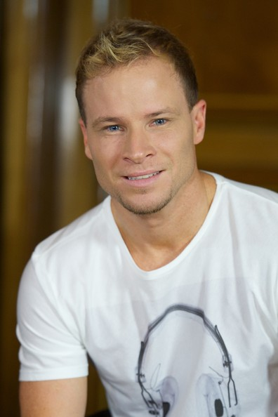 brian littrell pictures backstreet boys pose in madrid
