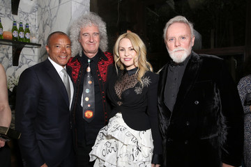 Brian May Vanity Fair And Genesis Celebrate The Cast Of 'Bohemian Rhapsody'
