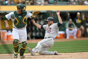 Brian McCann Houston Astros v Oakland Athletics