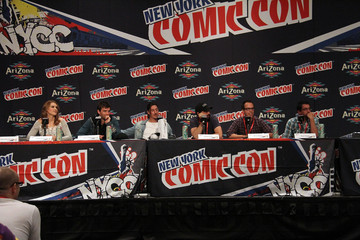 Brian Millikin Fans Dress Up at New York Comic Con