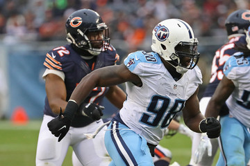 Brian Orakpo Tennessee Titans v Chicago Bears