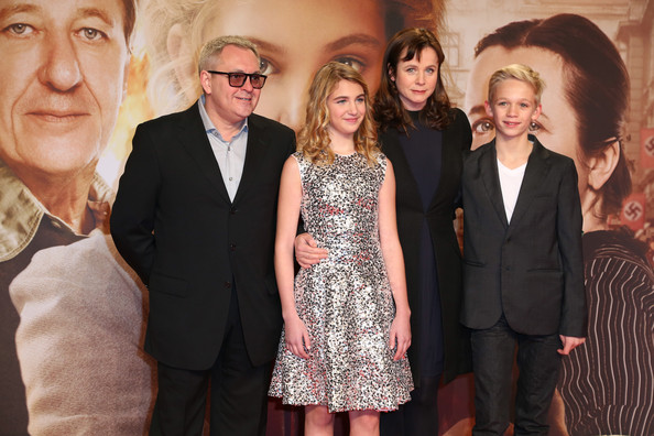 Brian Percival and Sophie Nelisse - 'The Book Thief' Premieres in Berlin