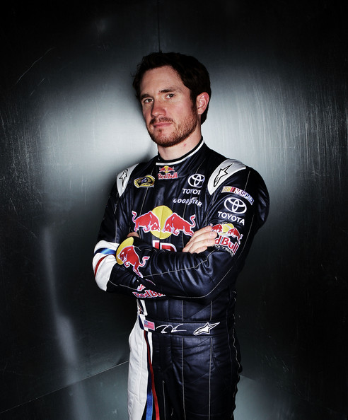 Brian Vickers Pictures 2011 Nascar Media Day Stylized