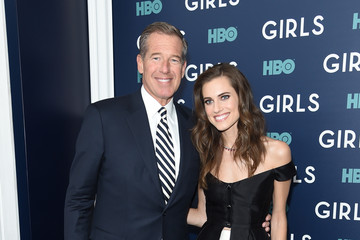 Brian Williams The New York Premiere of the Sixth and Final Season of 'Girls' - Arrivals
